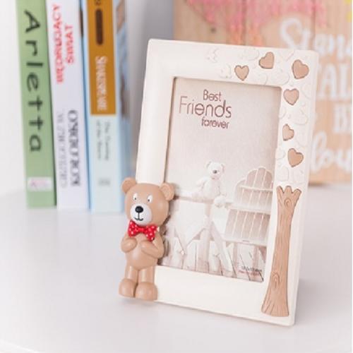 7寸卡通小熊相框摆台创意儿童可爱相架挂墙宝宝简约像框照片定制